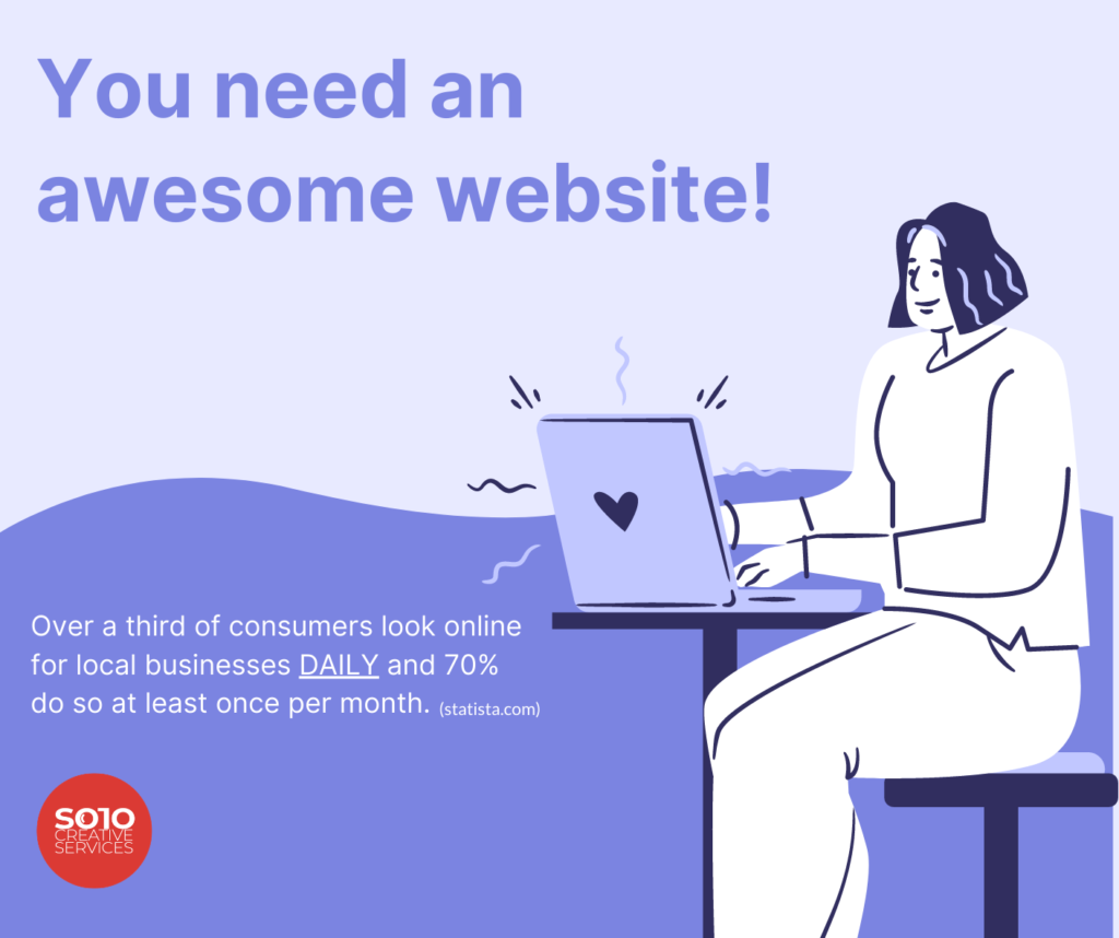 Why you need a website - Website Design & Photography Based in Chico, CA